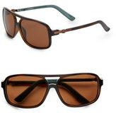 Sperry Georgetown Oversized Square Sunglasses
