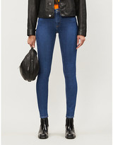 Samsoe & Samsoe Alice skinny faded mid-rise jeans