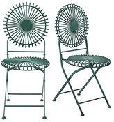 Sunburst Garden Chairs
