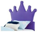 Powell Company Princess Crown Kids Headboard Purple (Twin)