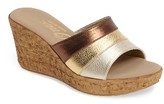 Onex Women's Balero Cork Wedge Sandal