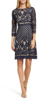 Gabby Skye Women's 'Placement' Lace Sheath Dress