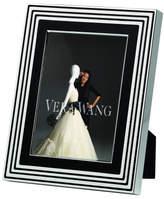 "Vera Wang Wedgwood Wedgwood With Love Noir Silver Frame 5""X7"