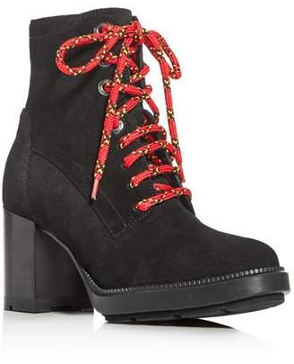 Aquatalia Women's Isotta Block-Heel Booties