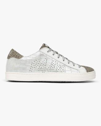 P448 John Silver Croc Leopard Sneaker