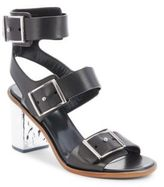 McQ Ankle-Strap Leather Sandals