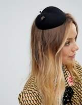 Vixen Heart Shaped Pillbox Hat