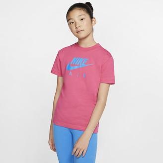 Nike Big Kids' (Girls') Cotton T-Shirt