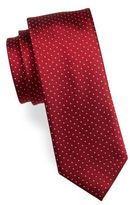 HUGO BOSS Textured Dot Silk Tie
