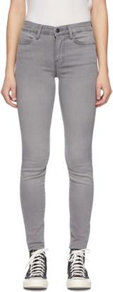 Frame Grey Le High Skinny Jeans