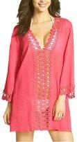 HINDAWI Women's Floral Lace Beachwear Dress Bikini Cover Up, XL