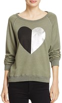 Sundry Split-Heart Sweatshirt