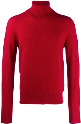 Maison Margiela turtleneck knitted sweater