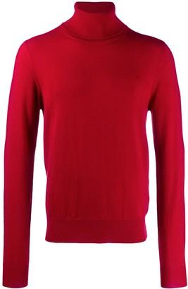 Maison Margiela Turtleneck Knitted Sweater