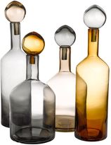 Pols Potten Bubbles & Bottles Chic Set Of 4 Bottles