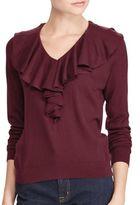 Lauren Ralph Lauren Vasiva V-Neck Sweater