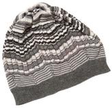 Missoni Cut-Out Crochet Hat
