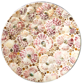 Twos Company Mosaic Shell Art Mother of Pearl Tray