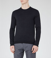 Reiss Hart Merino Wool Crew-Neck Jumper