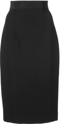 Milly Fitted Pencil Skirt