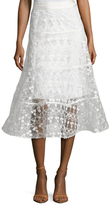 Alexis Anmarie Embroidered Lace Skirt