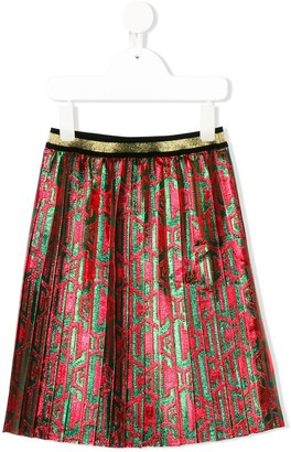 Gucci Kids Pleated Skirt