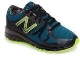 New Balance Boy's 200 Electric Rainbow Athletic Shoe