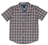 Volcom Toddler Boy's Amerson Plaid Woven Shirt