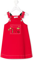 Rykiel Enfant - dungaree dress - kids - Cotton/Spandex/Elastane - 2 yrs