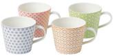 Royal Doulton 1815 Pastel Set Of 4 Mugs