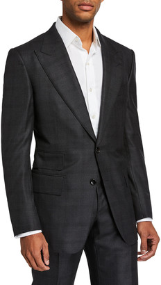 Tom Ford Men's Windsor-Peak Micro-Structure Two-Piece Suit