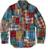 Ralph Lauren RRL Patchwork Cotton Workshirt