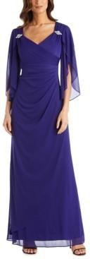 R & M Richards Empire-Waist Gown