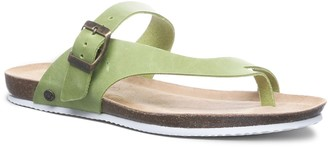 BearPaw Oceania Women's Leather Slide Sandals