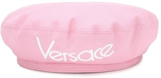 Versace Exclusive to Mytheresa a Logo cotton beret