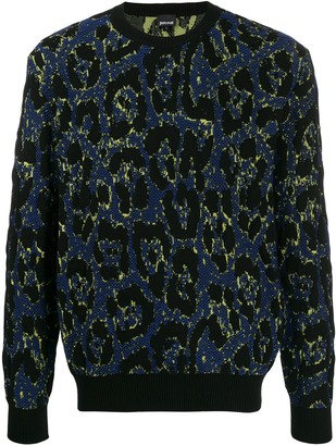 Just Cavalli Leopard-Print Jumper