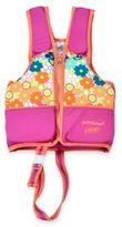 Aqua Leisure SwimSchool® Medium Printed Swim Vest in Pink