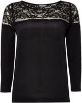 Marella Balance 34 sleeve lace woven top