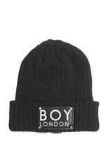 Boy London Boy Wool Knit Beanie Hat