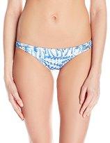 Sofia by Vix Women's La Jolla Blue Rio Strap Detail Bikini Bottom