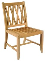 The Well Appointed House Kingsley Bate Somerset Teak Dining Side Chair