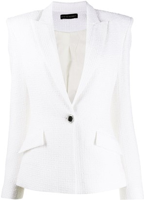 David Koma Textured Blazer