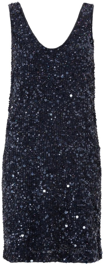 French Connection Flash Sequins Dress