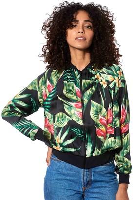 MC2 Saint Barth Tropical Print Bomber Jacket #losangeles