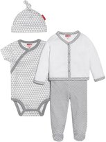 Skip Hop 4-Piece Welcome Home Set (Baby) - Grey-Newborn