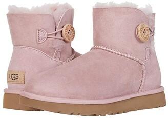 UGG Mini Bailey Button II (Chestnut) Women's Boots