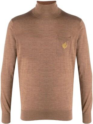 DSQUARED2 Logo-Applique Roll Neck Sweater