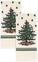 Spode Tree Kitchen Towels in Ivory (Set of 2)