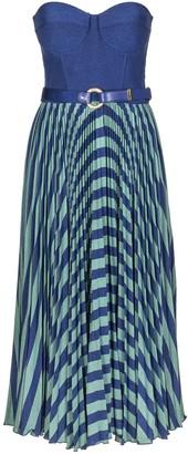 Elisabetta Franchi Celyn B. Sleeveless Dress With Belt