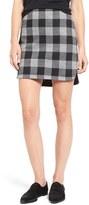 Madewell Women's Plaid Shirttail Skirt